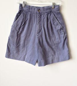 Patagonia Vintage Chino Blue High Rise Shorts